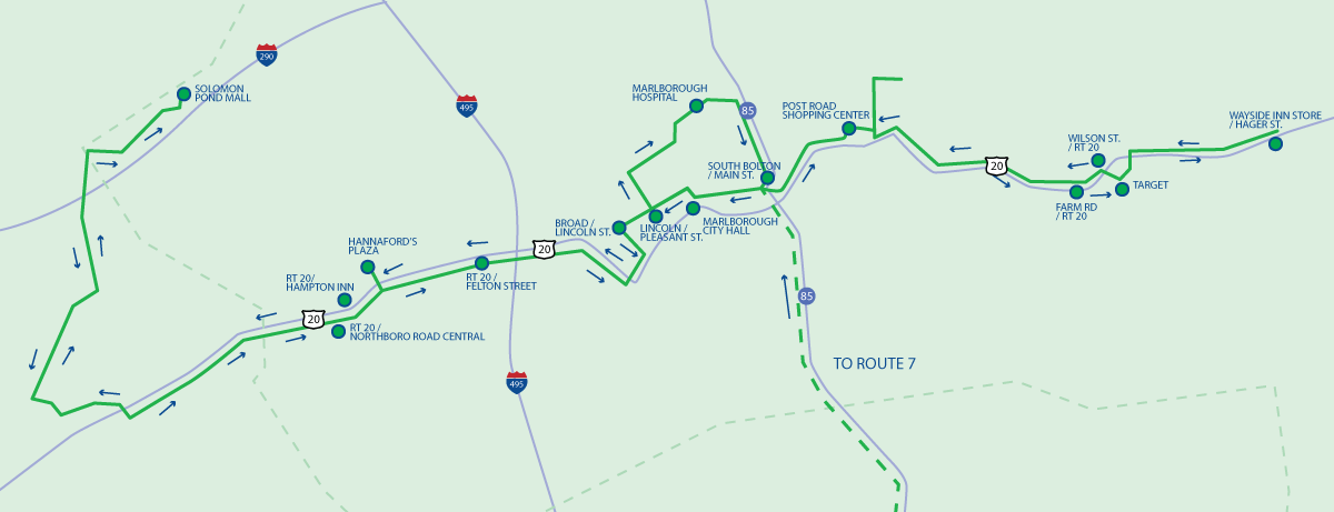 Route 7C Map