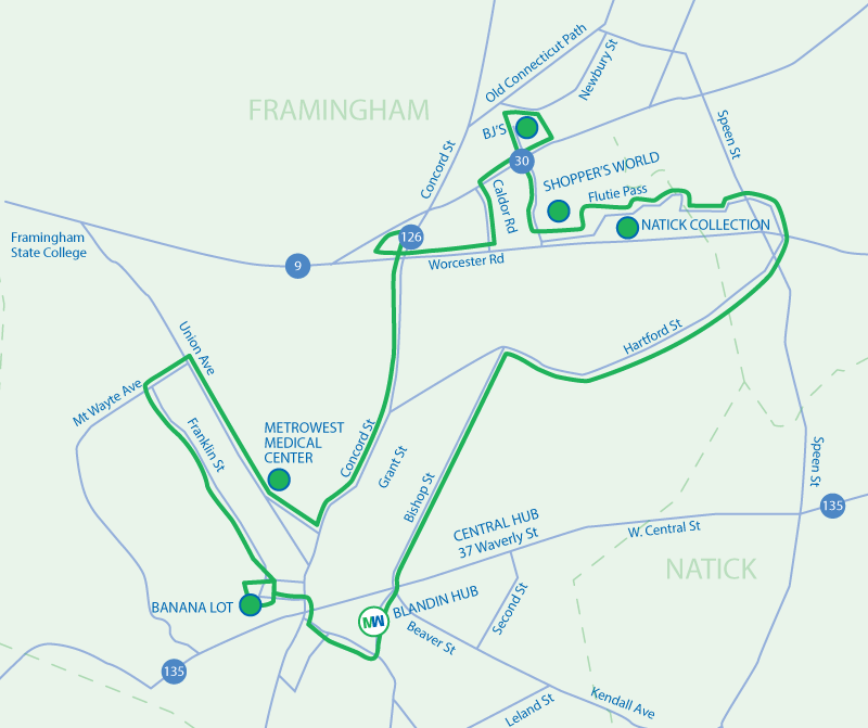 Route 4 Map Saturday